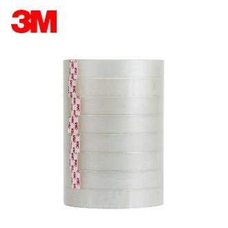 3M 透明膠帶 ( 18mm x 40y ) #502-8PK 筒裝OPP膠帶