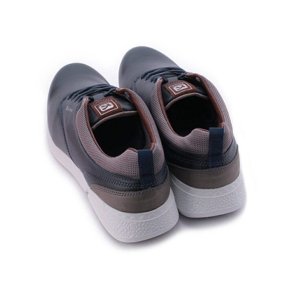 巴西KILDARE - 亮皮綁帶休閒鞋 藍 AL388-NA 男鞋 2