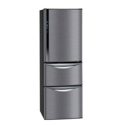 【純米小舖】Panasonic國際牌385L變頻三門電冰箱-極致黑NR-C387HV-K