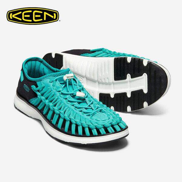 KEEN男款織帶涼鞋UneekO21018713城市綠洲(編繩結構、輕量、戶外休閒鞋、運動涼鞋)
