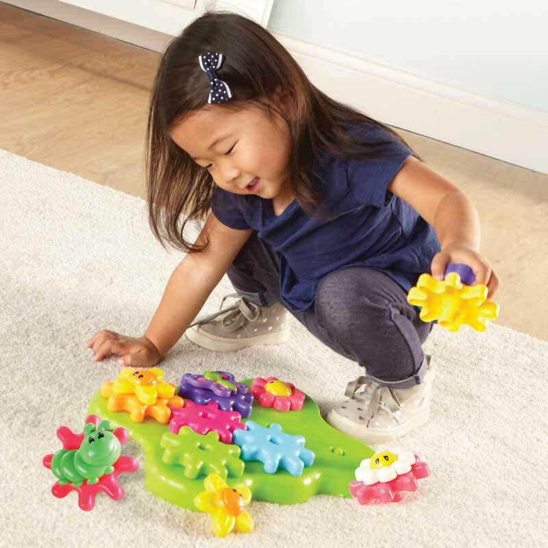 【華森葳兒童教玩具】益智邏輯系列-迷你花園齒輪組 N1-9219