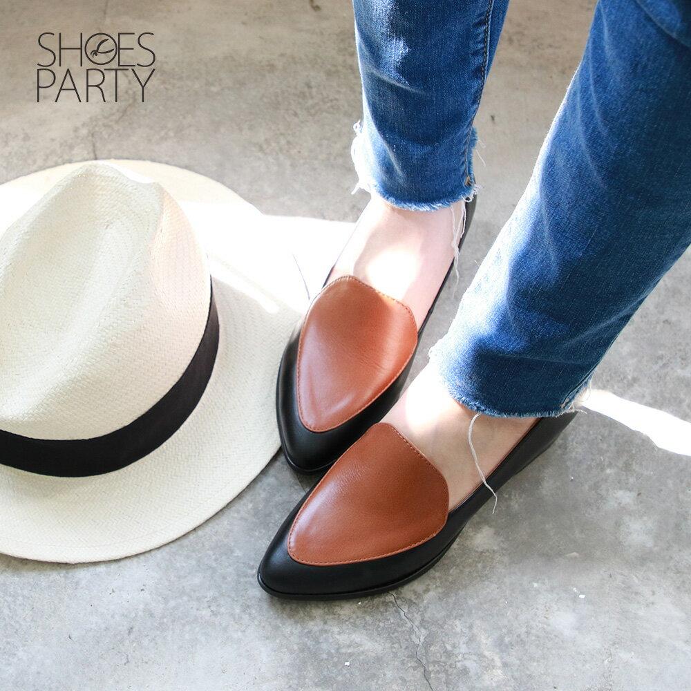 【P2-19427L】真皮配色復古爵士鞋_Shoes Party 4