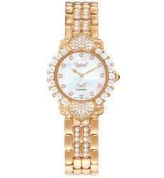 Ogival愛其華 偷心系列 真鑽腕錶 白貝殼面 典雅玫瑰金 380-082DLR 32mm
