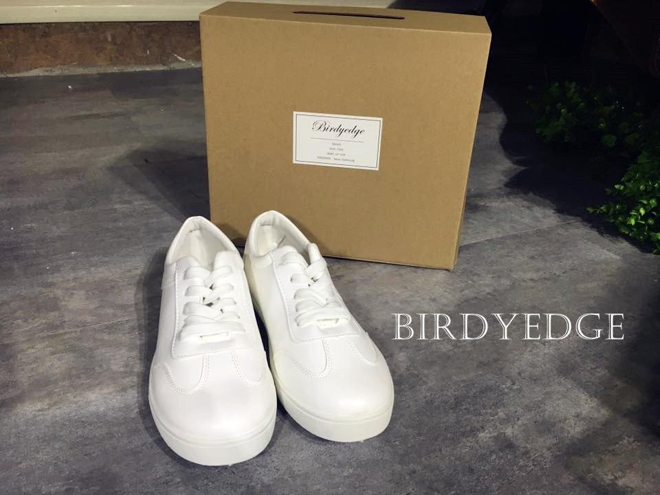 BIRDYEDGE限量品牌 白鞋 白色鞋子 歐美 白鞋 懶人 鞋款 品牌設計 GD SLP YEEZY OVK