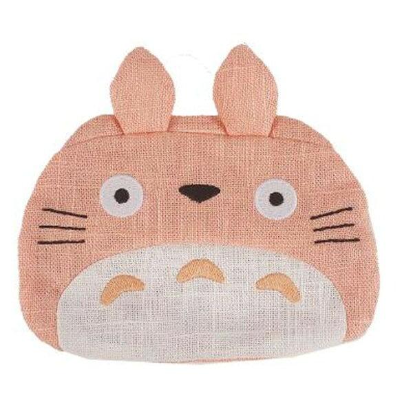 【真愛日本】18050900023限定日式和風面紙包-大龍貓粉櫻花宮崎駿龍貓TOTORO面紙包收納包
