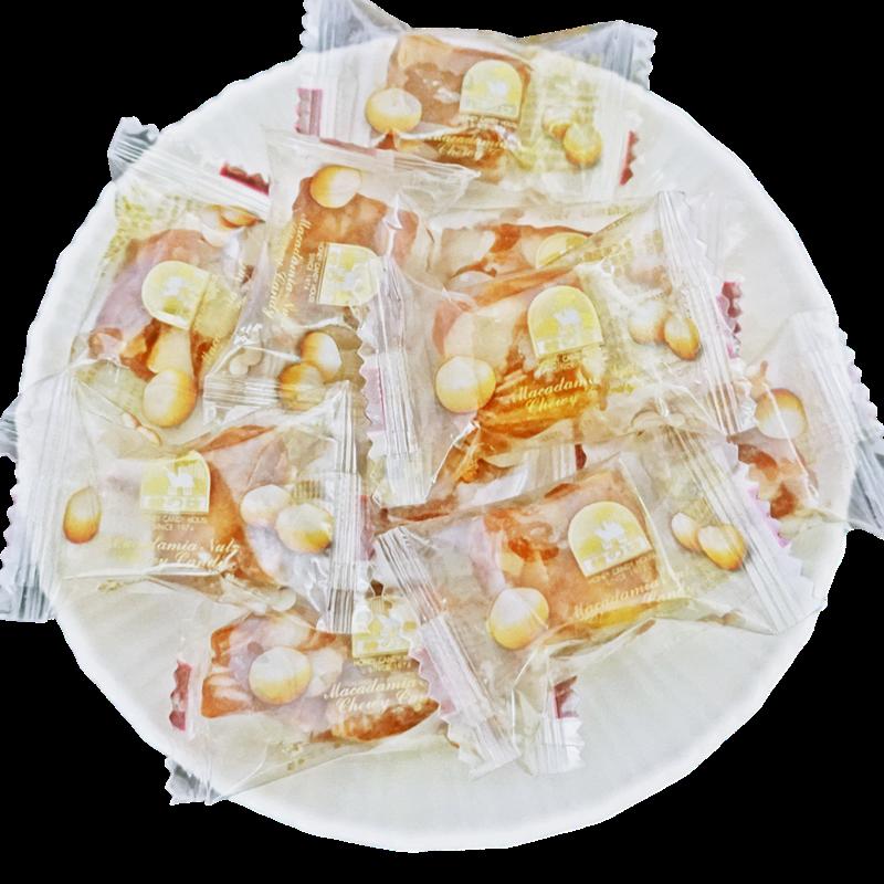 糖坊 手作夏威夷豆軟糖-黑糖味 200g(20個) (匠人手作美味)