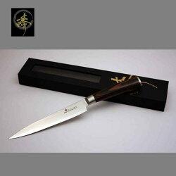 料理刀具 大馬士革鋼系列-150mm水果刀 〔 臻〕高級廚具-DLC828-01S