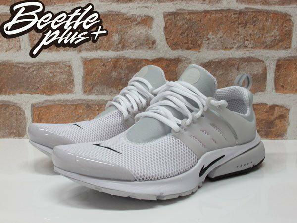 BEETLE NIKE AIR PRESTO BR QS DART SWOOSH 全白 白灰 白黑 透氣 網面 魚骨頭 跑鞋 789869-100 1