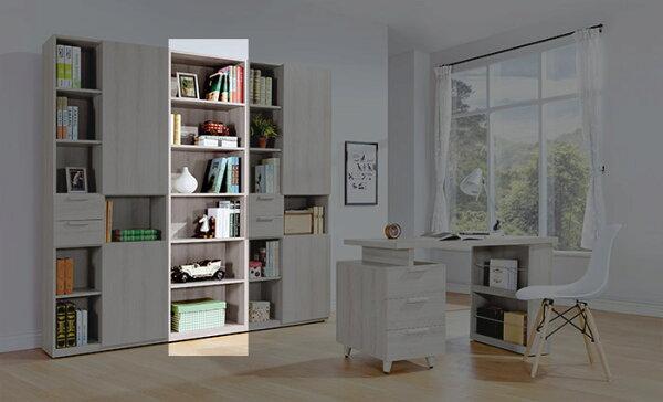 【尚品傢俱】HY-A501-03珊蒂2尺開放書櫃