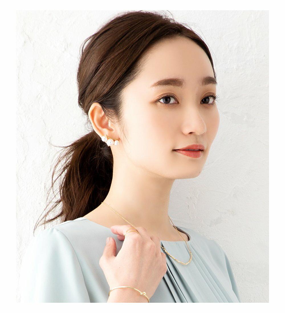 日本Cream Dot  /  優雅珍珠造型耳環  /  a04074  /  日本必買 日本樂天代購  /  件件含運 6