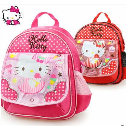 正版Hello Kitty 凱蒂貓 幼兒園書包 寶寶後背包3-5歲適合