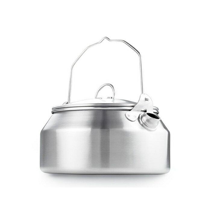 GSI 美國 | Glacier Stainless Tea Kettle 不鏽鋼茶壺 | 秀山莊(68162)