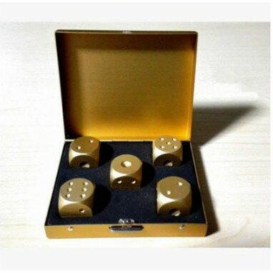 【黃金骰子】   比大小 派對 桌遊  遊戲 聚餐  金色DIGITAL INTERNAT1116劉