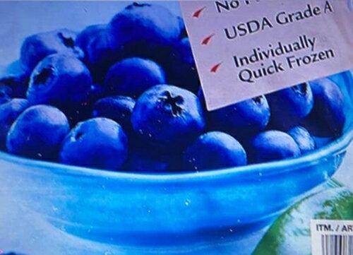 [COSCO代購] W722573 Kirkland Signature 科克蘭 冷凍藍莓 2.27公斤 兩入