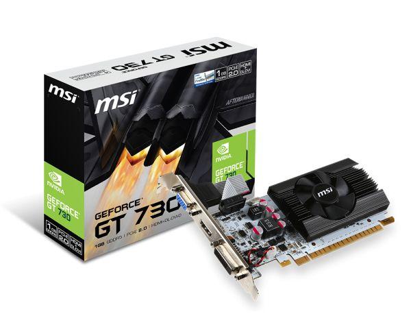 微星N730K-1GD5LP/OCV1 PCI-E顯示卡雪精靈系列,附短擋片 全新原廠公司貨含稅附發票