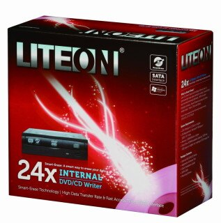 LITEON IHAS324 24X DVD燒錄器(SATA介面)全新原廠公司貨含稅附發票