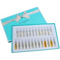 母親節香水推薦到LA CHANTEE 2ml香水25入 Discovery Set 全系列禮盒組就在LA CHANTEE推薦母親節香水