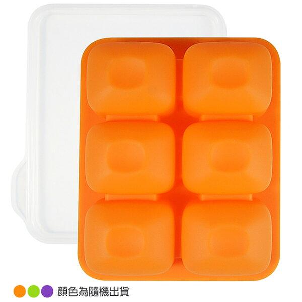 韓國BeBeLock副食品TokTok連裝盒6格(顏色隨機出貨)