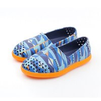 native 輕量懶人鞋、休閒防水鞋到native VERONA 休閒鞋 桔藍 小童 no485