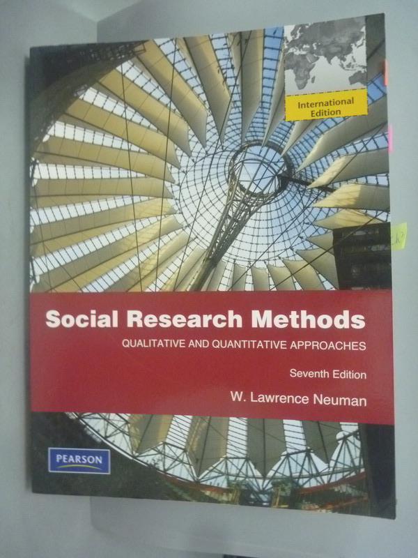 ~書寶 書T1/大學商學_WFZ~Social research methods : qu