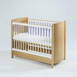 【淘氣寶寶●下標前請先提問】BendiI-LUFLEX升降碳纖管嬰兒大床-原木紫管77x144x高96cm【全配】