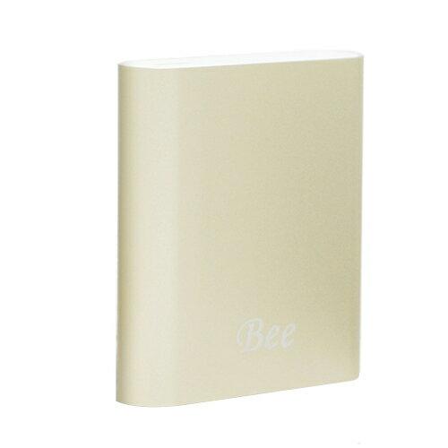 BEE 10400 鋁合金行動電源-金【三井3C】