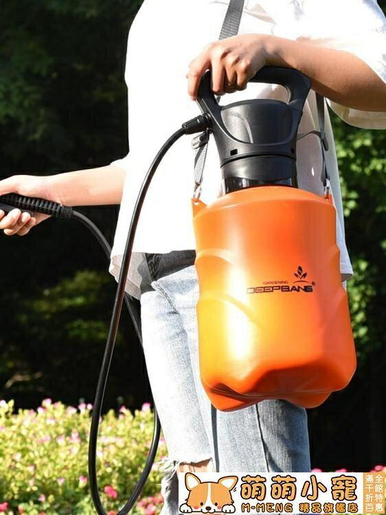 噴霧器 深邦電動噴霧器背肩負式高壓多功能噴霧瓶智慧噴壺打機