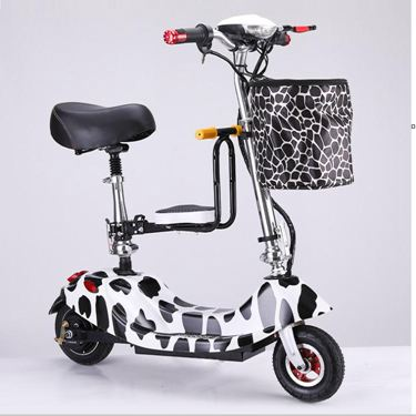 emicro小海豚女性電動車成人小型電瓶車迷你代步車摺疊電動滑板車
