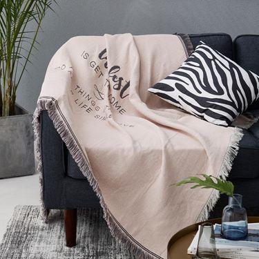 沙發罩 北歐沙發蓋布雙面字母沙發布全蓋沙發巾沙發罩單雙人沙發套ins風