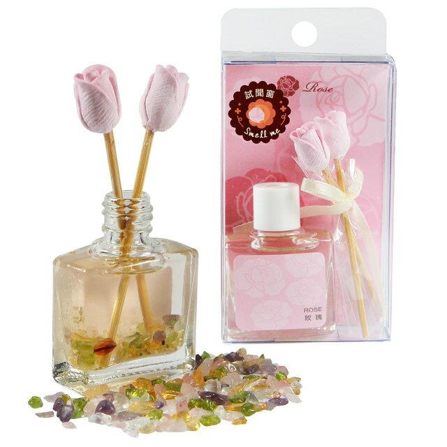 【馥瑰馨盛X A1寶石】五行玫瑰香氛組-紫水晶粉水晶等同聚寶盆功能(含開光-20ML)4030665