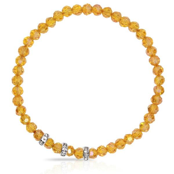 【馥瑰馨盛XA1寶石】晶鑽幸運水晶系列(波菊黃-含開光)4030672