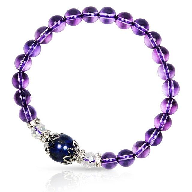 【馥瑰馨盛X A1寶石】星座誕生石-晶鑽紫水晶白水晶青金石-幸運石(含開光)4030706