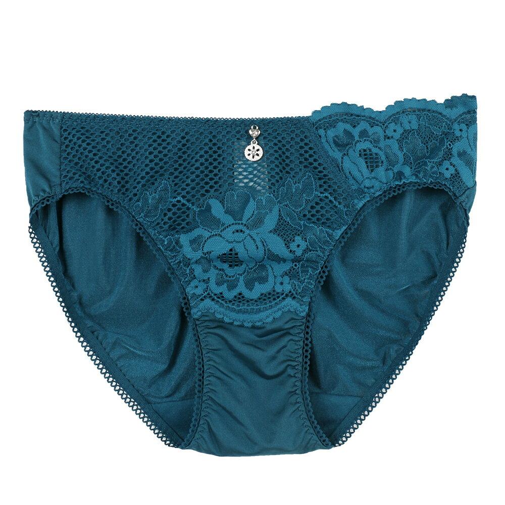 【Favori】魔力 玫情芬芳三角褲 (丹寧藍) 0