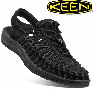 KEEN 涼鞋/運動涼鞋/拖鞋/繩編涼鞋 UNEEK 男款 1014097 全黑版/台北山水