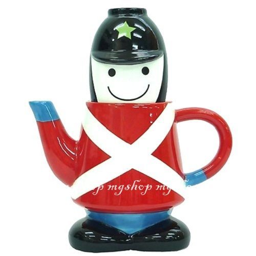 日本進口SUNART TEA FOR ONE 兵隊 杯茶壺組