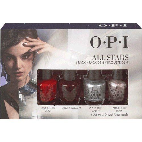 【彤彤小舖】 OPI- All Stars 永恆星辰迷你指甲油 4入組 3.75ml*4色