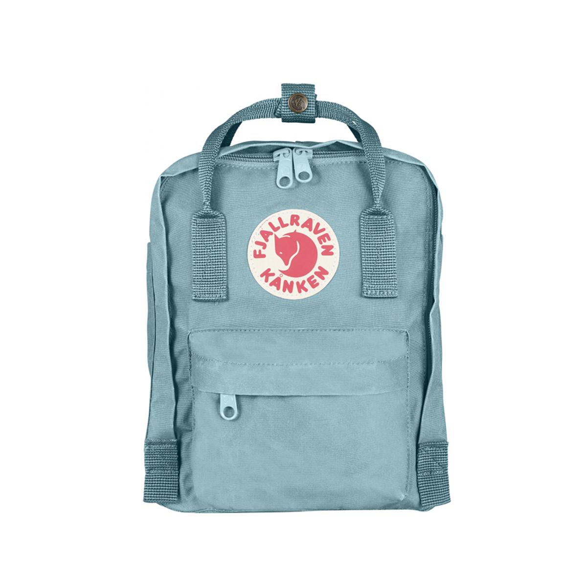 ├登山樂┤瑞典Fjallraven Kanken Mini 復古後背包 方型書包-天空藍 # F23561-501