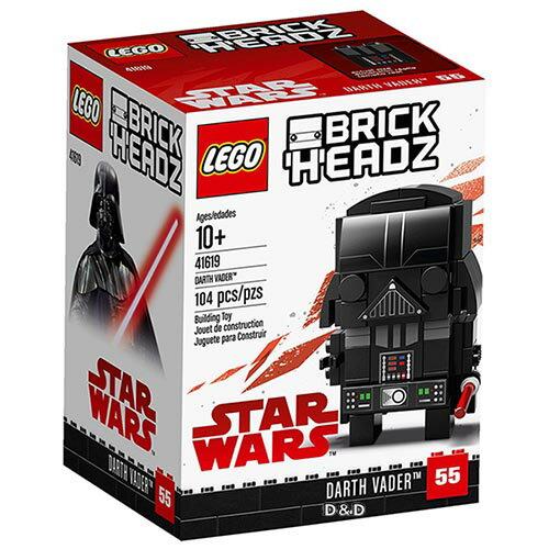 樂高積木LEGO《LT41619》2018年Brickheadz積木人偶系列-星際大戰黑武士DarthVader™V29