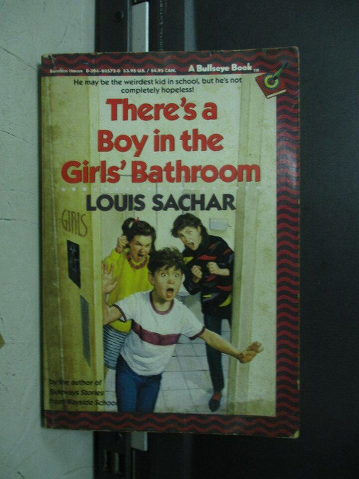 【書寶二手書T8/原文小說_NMM】There's a boy in the girls's..._sachar