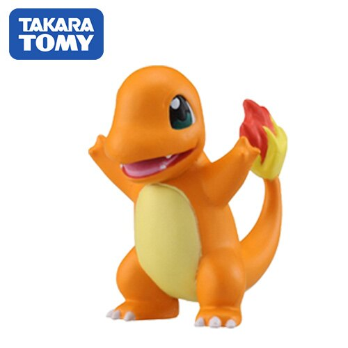 【日本進口】小火龍 Charmander 寶可夢 造型公仔 MONCOLLE-EX 神奇寶貝 TAKARA TOMY - 968511