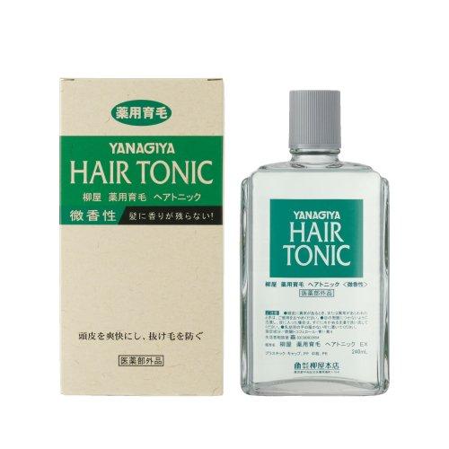 ∥露比私藏∥日本【YANAGIYA 】 Hair Tonic 柳屋髮根營養液(微香型)  240ml 0