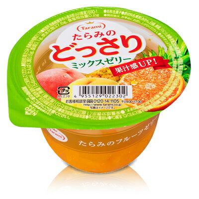 【Tarami達樂美】杯子果凍-綜合水果 230g 果汁感UP 日本進口