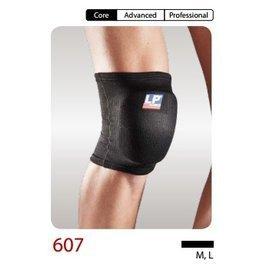 【H.Y SPORT】 LP 607 護具 護膝 簡易型墊片膝部護套 護膝 黑色 (1對裝)