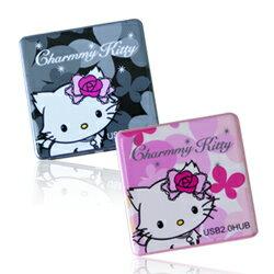 【迪特軍3C】Charmmy Kitty USB2.0 4PORT HUB 高速集線器 (HUB-CKT-01)