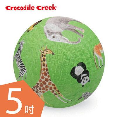【悅兒園婦幼生活館】美國 Crocodile creek 5吋兒童運動遊戲球/足球-動物風情(13cm)