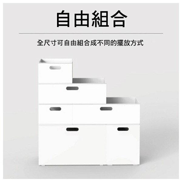 收納盒 橫式半格型 N INBOX GY NITORI宜得利家居 7