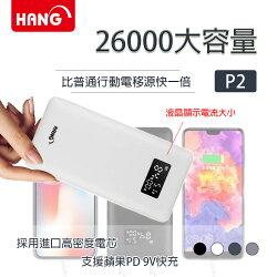 【HANG】26000大容量 液晶顯示 三輸出行動電源 (P2)