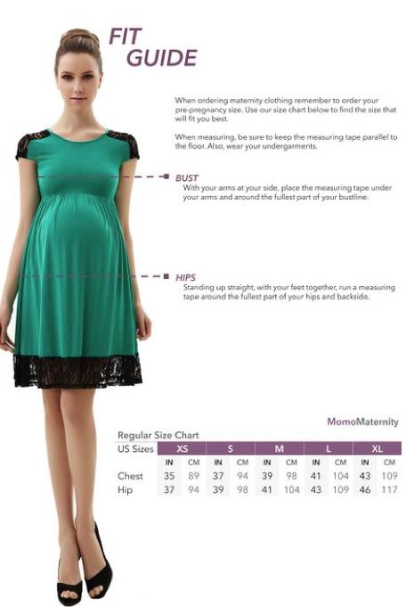 Momo Maternity Navy Colorblock Skater Dress 4
