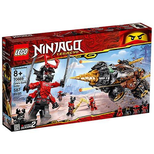 樂高LEGO 70669  NINJAGO 旋風忍者系列 -阿剛的鑽土機 - 限時優惠好康折扣