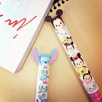 PGS7 日本迪士尼系列商品- 迪士尼 TSUM TSUM 雙色 原子筆 造型筆 米奇 米妮 史迪奇